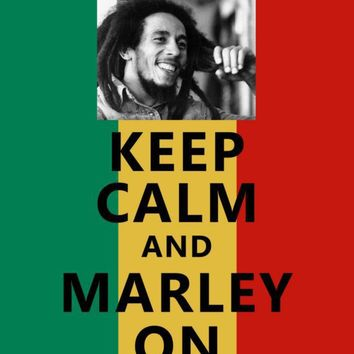 Keep Calm And Marley On 8 x 10 Print art by dabbledownJunior