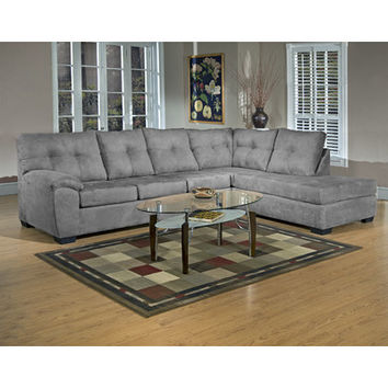 Three Posts Charlotte Right Hand Facing Sectional & Reviews | Wayfair