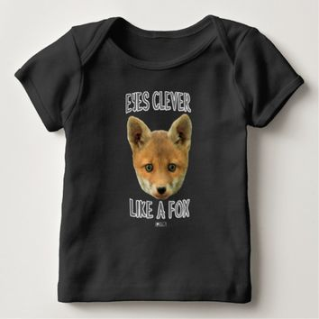 Eyes Clever Baby Design by Kat Worth Baby T-Shirt