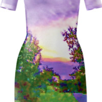 Air Brushed Sunset created by Skylar | Print All Over Me