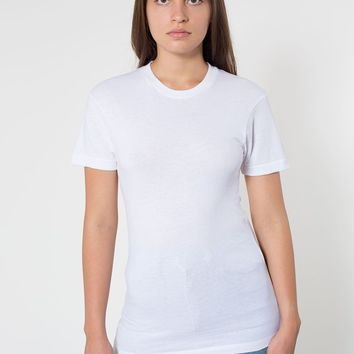 6401dlw - Unisex Sheer Jersey Short Sleeve Summer T-Shirt