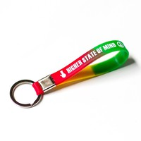 Higher State Of Mind Wristband Keychain