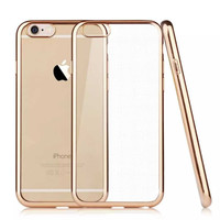 """Ultra-thin Soft TPU Electroplate Case  For iPhone 6 6s 4.7"""" / 6s Plus 5.5""""  Shockproof Silicone Case Soft Shell for iPhone6"""