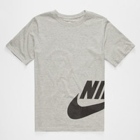 Nike Sb Wrap Around Boys T-Shirt Heather  In Sizes