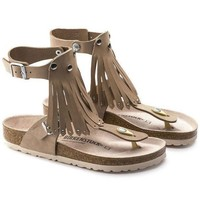 DCCK1 Birkenstock Gizeh High Leather Nude 1005373 Sandals