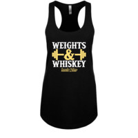 Weights & Whiskey Racerback Tank