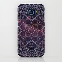 Sacred Space Phone Case, iphone X 10 8 8 plus 7, 7 plus  Samsung, geometric mandala, stars