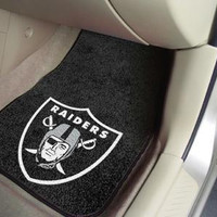 NFL - Oakland Raiders 2 Piece Front Car Mats