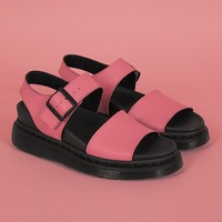 Dr. Martens Romi Soft Pink Strap Sandals - Everything - Categories - Womens
