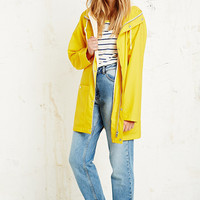 BDG Fisherman Rain Jacket in Yellow - Urban Outfitters