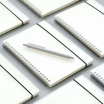 Plastic Cover Spiral Notebook B5 Set of 3