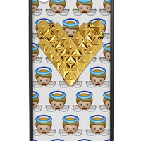 Angel Gold Heart iPhone 5/5s Case