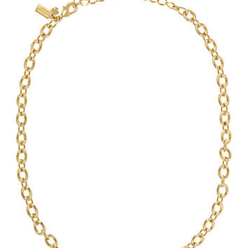 Kate Spade Charm Link Necklace Gold ONE