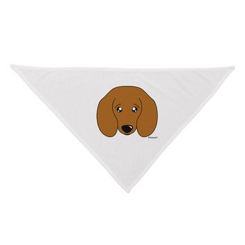 Cute Doxie Dachshund Dog Dog Bandana 26 by TooLoud