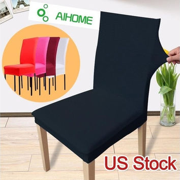 US Stock Latest High Elastic and Universal Dining Chair Cover (AIHOME)