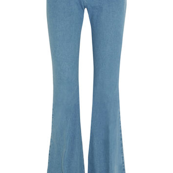 Mid-rise flared bootcut jeans | Michael Kors Collection | PR | THE OUTNET