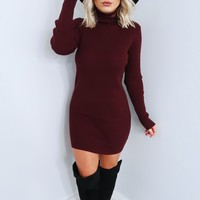 Everyone's Favorite Dress: Merlot