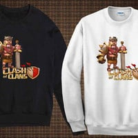 Barbarian king sweater clash of clan sweatshirt fit for you and your children