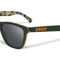 Oakley Sunglasses - Frogskins LX - Koston Camo Green, Black Iridium OO2043-14