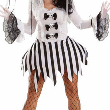 Zombie Bride Cosplay Anime Cosplay Apparel Holloween Costume [9211504580]