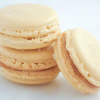 Edible Favor French Macaron 12 Sea Salt Caramel Macaroons Gift Splendid Sweet