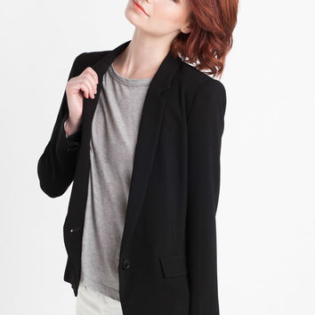 Nili Lotan Soft Blazer in Black