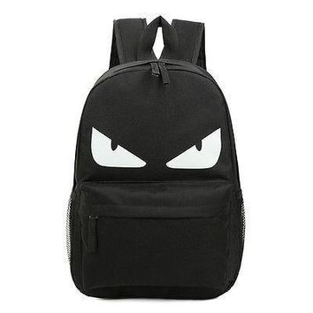Men Cartoon Rucksack Boy School Book Bag Girl Travel Laptop Bag Women Retro Backpack