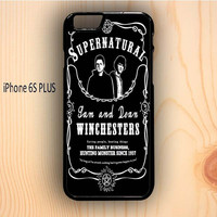 Dream colorful Supernatural The Winchester iPhone 6S Plus Case