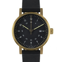 V03D Black/Gold Watch by VOID