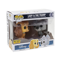 Funko Disney Lady & The Tramp Pop! Vinyl Figure Set Hot Topic Exclusive