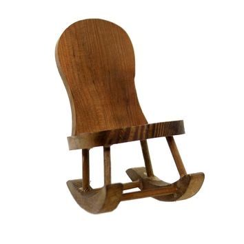 Miniatures Rocking Chair Figure