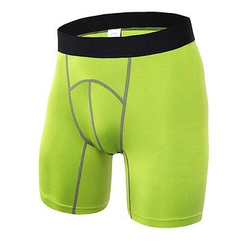 Men's Gym Workout Compression Shorts