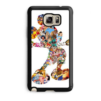 mickey mouse silhouette samsung galaxy note 5 note edge cases