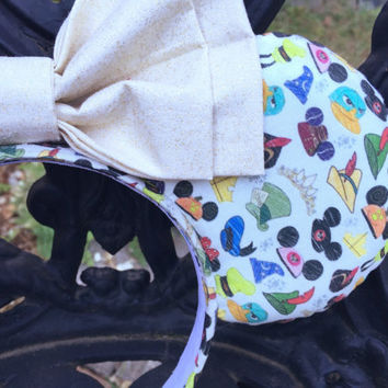 Disney Parks Hats Inspired Mouse Ears Headband