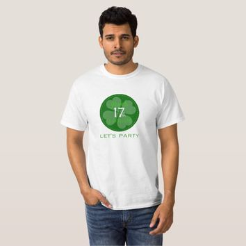 Let's Party St. Patrick's Day Men's Value T-Shirt