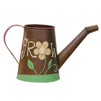 Watering Can - Grow Flower - Decor