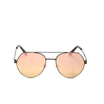 Matrina Beach Sunglasses - Black/Pink