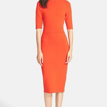Women's A.L.C. 'Scoppa' Cutout Knit Sheath Dress,