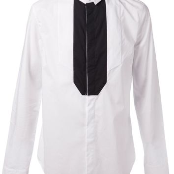 Unconditional tux zipper shirt