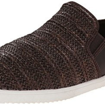 Kenneth Cole New York Men's Grand Slam LE Fashion Sneaker, Brown, 9 M US