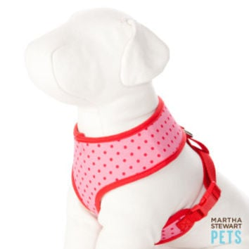 Martha Stewart Pets® Spring Shower Polka Dot Dog Harness | Harnesses | PetSmart