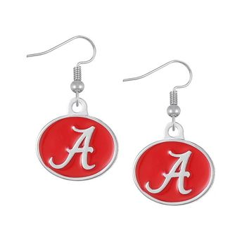 High Quality NCAA Alabama Crimson Tide Team logo Eagles Sports Drop Earrings For Women Earrings Jewelry( 5pairs in the listing)