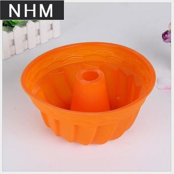 Silicone cake mold baking pan size silicone baking pan pumpkin - shaped silicone baking pan Color random