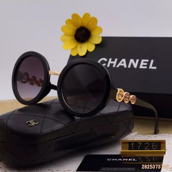 Original Chanel Fashion Non Polarized Women Sunglasses 1726 - 196