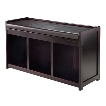 Addison 2-Pc Storage Bench with Cushion Seat