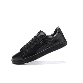 Best Deal Puma SUEDE CLASSIC+ Shoes Women Men Sneaker Black Black
