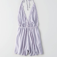Don't Ask Why Halter Romper, Lively Lilac