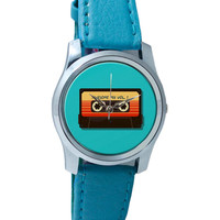 Guardians Of The Galaxy Awesome Mixtape Wrist Watch