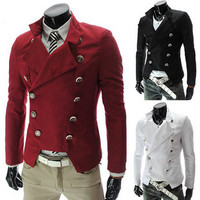 Slim Fit Dashing Double Breasted Blazer