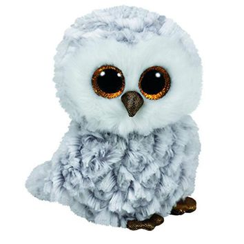 "Pyoopeo Ty Beanie Boos 6"" 15cm Owlette the Owl Plush Regular Stuffed Animal Collectible Soft Plush Doll Toy"